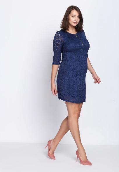 697aa965 Granatowa sukienka na różne okazje - jedna sukienka i trzy stylizacje