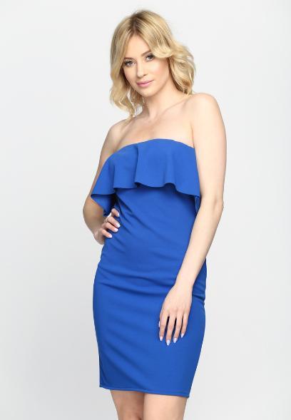 0270ffe6caf19 Dodatki do chabrowej sukienki. Ten kolor pasuje blondynkom i ...