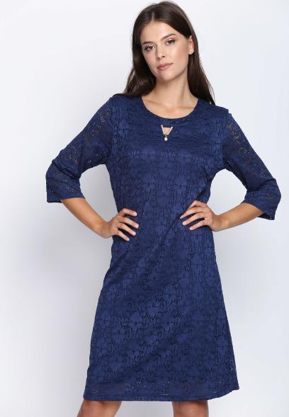 Granatowa Sukienka Na Różne Okazje Jedna Sukienka I Trzy Stylizacje