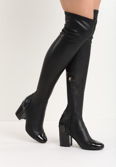 b33c4c3d501b1 Kozaki za kolano - do czego nosić muszkieterki jesienią?