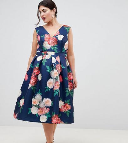 153fd00f33 Sukienki w kwiaty  wybrałyśmy najpiękniejsze modele