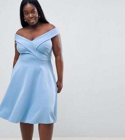 f1b7caad8c Jak się ubrać na wesele  Sukienki na wesele dla puszystych. Mamy też ...
