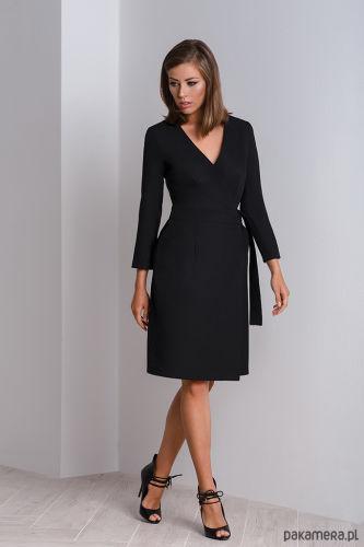 80efe11856 Sukienki kopertowe - kobiecy krój modelujący sylwetkę