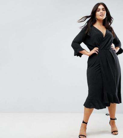 1b0c8f7dc094e Czarne sukienki plus size marki Asos! Wiele modeli z wyprzedaży