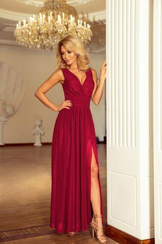 99ea18d3a8 Długa sukienka z rozcięciem. Modele na specjalne okazje