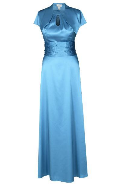 Sukienka FSU168 LAZUROWY