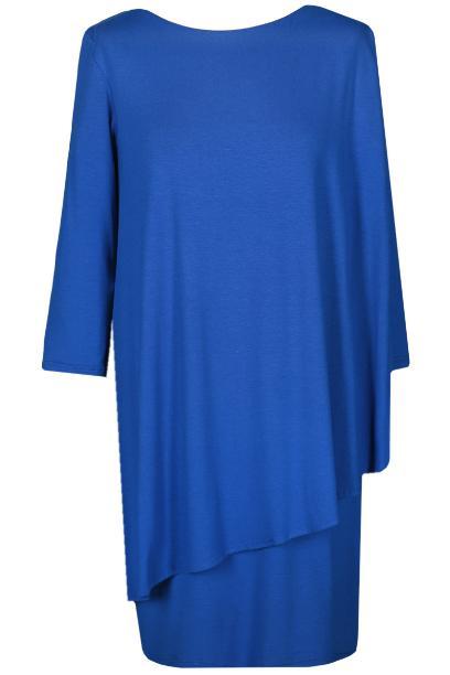 Sukienka FSU696 CHABROWY CIEMNY