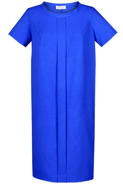 Sukienka FSU880 CHABROWY CIEMNY