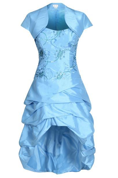 Sukienka FSU115 NIEBIESKI