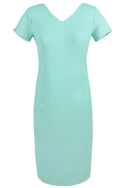 Sukienka FSU684 MIĘTOWY