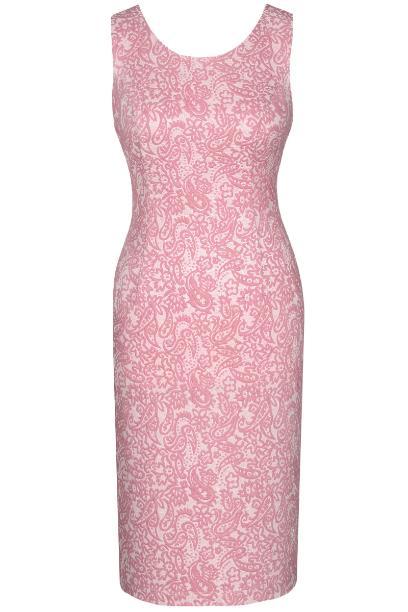Sukienka FSU688 RÓŻOWY