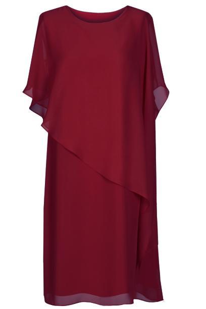 Sukienka FSU770  BORDOWY