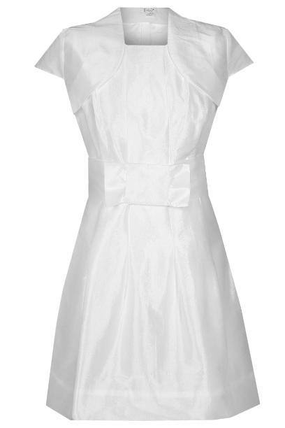 Sukienka FSU156 BIAŁY