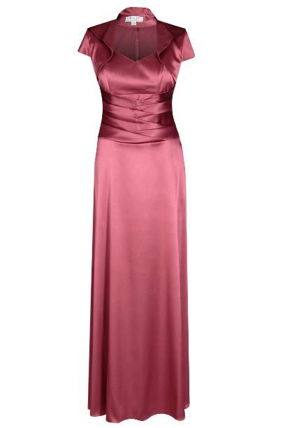 Sukienka FSU160 MALINOWY