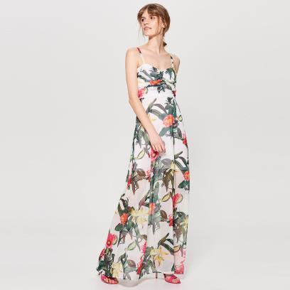 Letnia Sukienka Długa Biała Czy W Kwiaty Wybieramy
