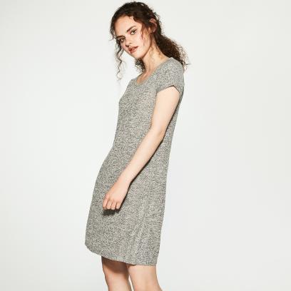 278dea2af2 Szara sukienka na jesień  przegląd nowości