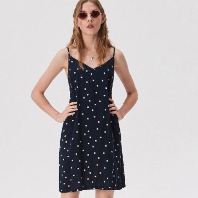 362e3313d5 Granatowy sukienki damskie damskie - Avanti24.pl