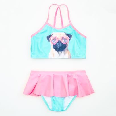 2160a30ce233d3 Reserved - Dwuczęściowy strój kąpielowy - Różowy