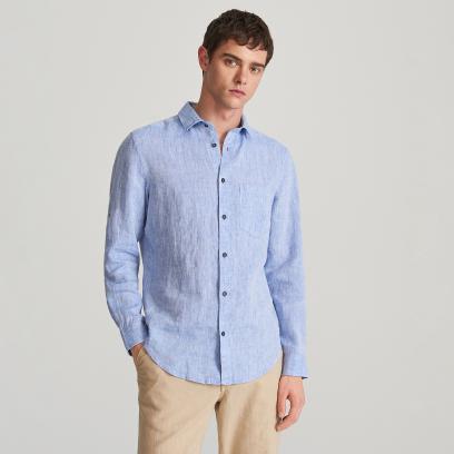 28a51f4a Koszula lniana - obowiązkowy element garderoby w upalne dni