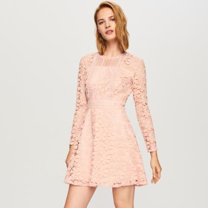 39ca8933b4 Sukienki W Kolorze Pudrowego Różu Modele Idealne Na Wesele Do 150