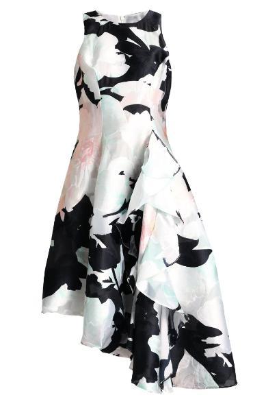 30cb86a68b Coast RODILLA CLIPPED WOW DRESS Sukienka koktajlowa multicoloured