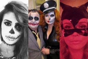 Grycan jako policjantka, a Krupa jako kobieta-kot. Ale to Maffashion wygrywa w tym roku Halloween!