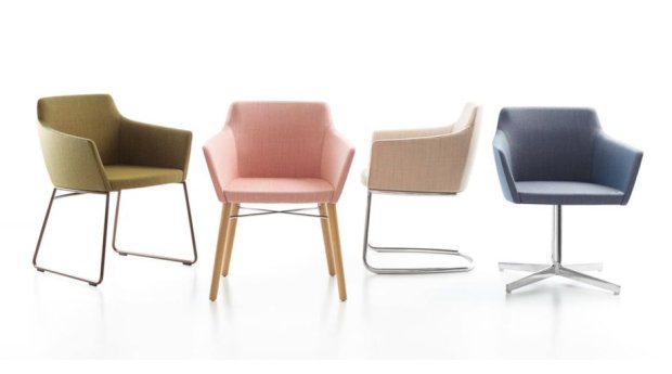 Fotel Nestle dla Stylex, proj. Brad Askalonie