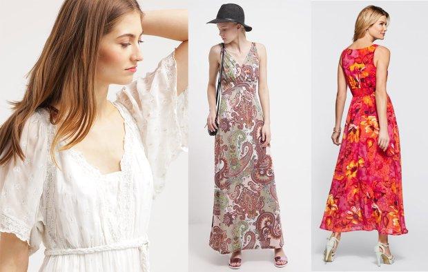 19d1738083 Długie sukienki - maxiefekt w letnich stylizacjach - zdjęcie nr 2