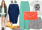 4 kobiece stylizacje ze spódnicami - mini, maksi, trapezowa i ołówkowa