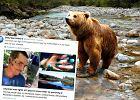 44-latek przeżył walkę z niedźwiedzicą