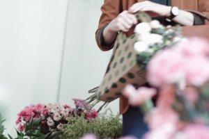 Polski projekt: BLUMA - torba na kwiaty