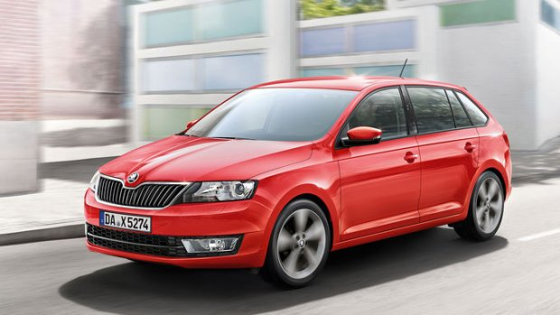 Skoda Rapid Spaceback 2015