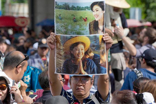 Była premier Yingluck Shinawatra uciekła z kraju. W Tajlandii groziło jej do dziesięciu lat więzienia