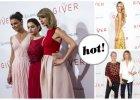 """Taylor Swift, Katie Holmes, Odeya Rush, Meryl Streep i Lindsey Ellingson na premierze filmu """"Dawca Pami�ci"""" w Nowy Jorku"""