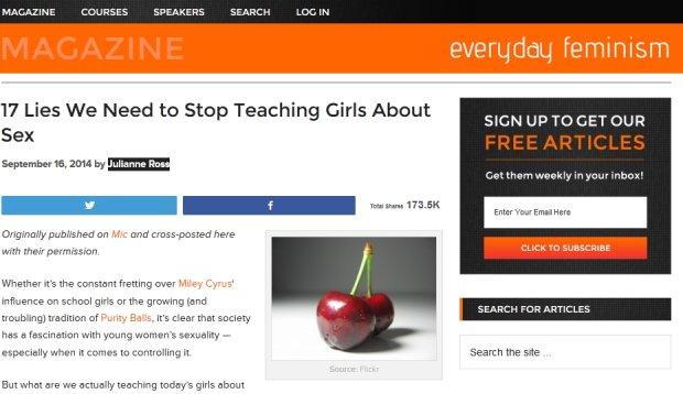 17 mit�w na temat seksu, kt�re wpajane s� m�odym kobietom