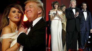 Donald Trump w piątek został zaprzysiężony na 45. prezydenta Stanów Zjednoczonych. Z tej okazji w Waszyngtonie zorganizowano aż trzy bale na cześć nowego prezydenta. Dwa z nich - Liberty oraz Freedom Ball - odbywały się w Washington Convention Center, a trzeci, zadedykowany siłom zbrojnym, miał miejsce w National Building Museum. Tradycyjnym punktem pierwszego balu był taniec pierwszej pary. Dopiero po chwili do Trumpa i jego małżonki na parkiecie dołączyli inni członkowie ich rodziny oraz nowy wiceprezydent Mike Pence z żoną. Zobaczcie, jak wyglądali!