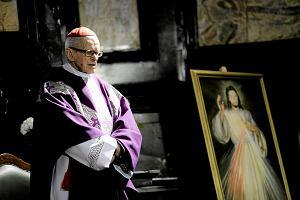 Kardyna� Franciszek Macharski w szpitalu