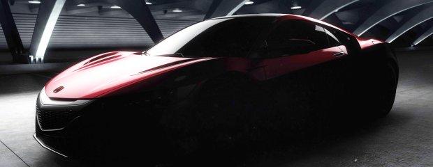 Salon Detroit 2015   Acura NSX   W końcu wersja produkcyjna