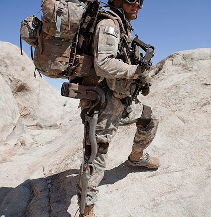 Ekso GT w wojsku