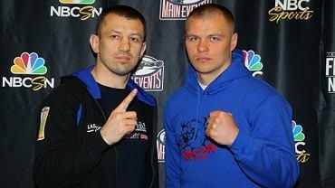 Tomasz Adamek i Wiaczesław Głazkow