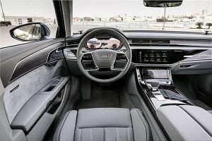 Nowe Audi A8. Wrażenia z jazdy? To jak teleportacja do przyszłości