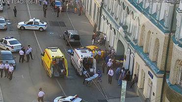 Wypadek w Moskwie