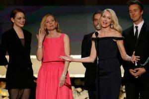 Obsada filmu Birdman na SAG Awards