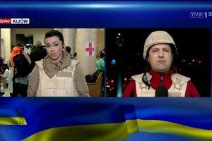 Polscy dziennikarze nadaj� z Kijowa