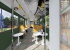Kawiarenka w tramwaju ma być gotowa na 1 maja. Stanie przy ul. Zielonej