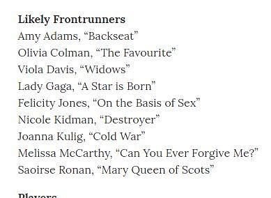 Joanna Kulig będzie nominowana do Oscara?