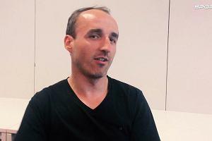 Kubica dla Sport.pl: O szansach na F1, o swoich emocjach i o... nieudolności translatorów (z ironią)