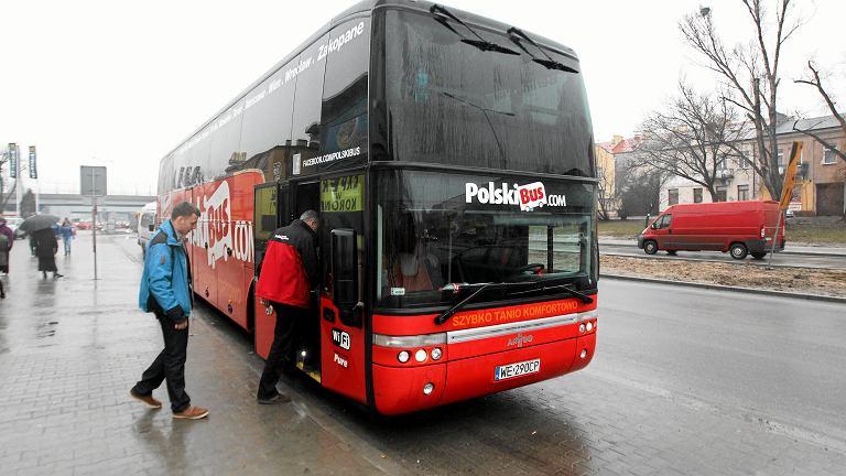 Polski Bus w Kielcach