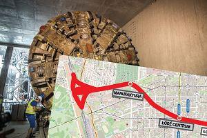 Będą drążyć gigantyczny tunel pod Łodzią. Prawie jak metro. Podziemny przystanek w samym centrum