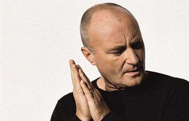 Phil Collins na chwilę przerwał emeryturę, by wystąpić w szkole syna.